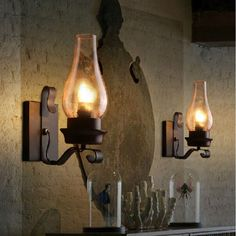 Wall Lamps Radient European Style Industrial Iron Rust Water Pipe Retro Wall Lamps Vintage E27 Led Sconce Wall Lights For Living Room Bedroom Bar Pure And Mild Flavor