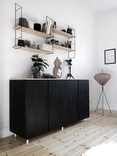 Most of us are constantly looking for new storage solutions for our home. And you may have chosen to install the famous Ikea Ivar cabinet. This storage unit clearly matches with all interior design … Ikea Hacks, Ivar Ikea Hack, Ikea Ikea, Ikea Ivar Cabinet, Sideboard Ikea, Salon Interior Design, Ikea Furniture, Home And Living, Interior Inspiration