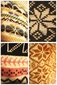 I LOVE fair isle knitting.