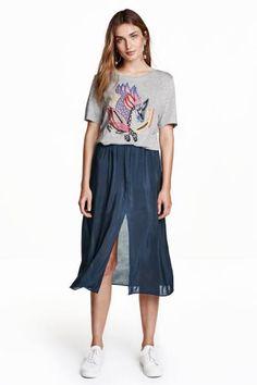 スリットスカート   H&M