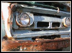 Pics For > Old Rusty Chevy Truck