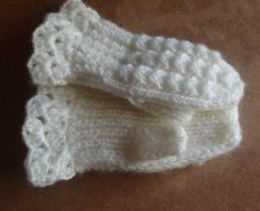 Как связать варежки на двух спицах? How to knit mittens on two needles?