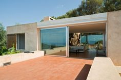 Bright Ocher Lime Corsica House - Draeger House by Philippe Stuebi