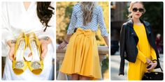 Pantone Buttercup: Moda (Eventos Happy Ever After)