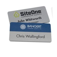 Need new name tags for your business? We've got you covered! Send us your logo and create yours for the new year!  Phone: 212-677-766  Email: sales@misterpromotion.com