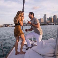 Elias' Sunset Sailboat Proposal