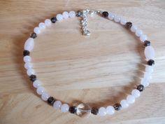 Three quartz necklace £10.00
