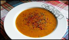 Turkish Red Lentil Soup, is a classic soup dish in Turkey, it's filling and perfect for a winters day.