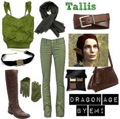 Dragon Age - Tallis, created by emi-watson on Polyvore