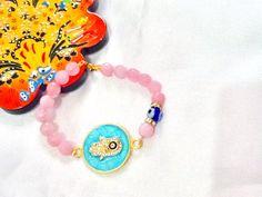 SALEHAMSA AMULET bracelet  ethnic bracelet  middle by Nezihe1