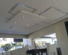 Gypsum Ceiling Design, House Ceiling Design, Ceiling Design Living Room, Bedroom False Ceiling Design, Ceiling Light Design, Modern Ceiling, Modern Bedroom Design, Interior Modern, Molding Ceiling