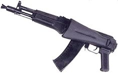 Assault rifle AK-105 was developed to change AKS-74U small size assault rifle. It is built on well recommended Kalashikov's assault rifles scheme, that inherited all the best qualities threw more than 50 years during AK assault rifle families modernization.       AK-105 is intended to use by secondary units such as supply, communication, tanks and artillery crews, staff personnel. It's predecessor was successfully used by Russian Federation ministry of internal affairs special forces in…