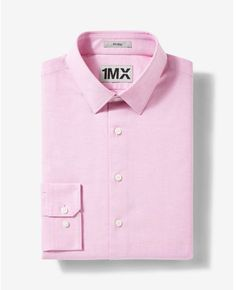 Express fitted easy care oxford 1MX shirt