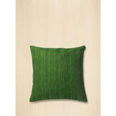 Varvunraita cushion cover 50x50 cm - green, dark green - Marimekko.com