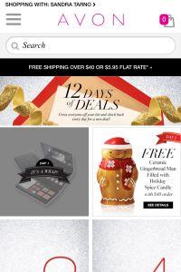 Avon 12 Days of Deals! | avonstarno