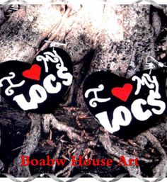 I love my Locs Earrings by BOABW on Etsy, $15.00