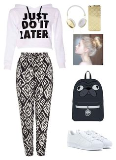"""""""Edger! u knw it..."""" by zayngirl27 ❤ liked on Polyvore featuring мода, Mela Loves London, adidas, Sonix и Frends"""