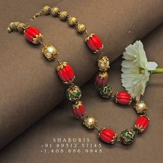 Coral Jewelry, India Jewelry, Silver Jewelry, Indian Wedding Jewelry, Bridal Jewelry, Indian Bridal, Jewelry Gifts, Indian Necklace, Gold Necklace