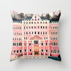 Buy Grand Budapest Hotel by Alison dillon art as a high quality Throw Pillow. Worldwide shipping available at Society6.com. Just one of millions of…
