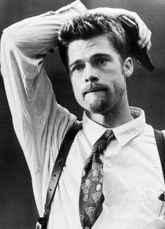 Brad Pitt black and white film grain Angelina Jolie, Brad And Angelina, Jolie Pitt, Christian Bale, Stanley Kubrick, Jennifer Aniston, Hugh Jackman, Gorgeous Men, Beautiful People