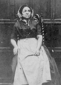 Household servant at Shibden Hall photographed about 1860 © West Yorkshire Archive Service