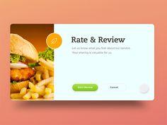 UI Movement - The best UI design inspiration, every day. Best Ui Design, Web Design, Food Design, Ui Animation, Build An App, Ui Design Inspiration, Apps, Ui Web, Screen Design
