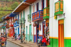 Colombia backpacking itinerary.