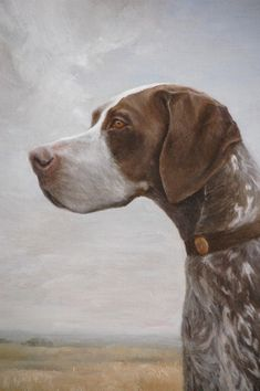 Close Up of Molly, Rebecca McClure, Oil on Panel.