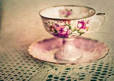 @ Alexandra Helweg Curtis... That's us about a month from today...drinking tea from a tea cup like this would be great.