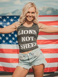 Winter Crops, We Wear, How To Wear, Lion Pride, New Tank, Cropped Hoodie, Summer Collection, Tank Tops, Tanks