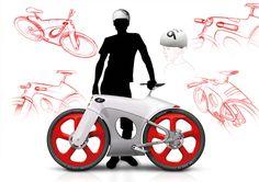 Wie würden wohl die Gefährte aussehen, die Porsche produziert, wenn man es mit einem Fahrradhersteller zu tun hätte? Eine mögliche Antwort auf die Frage liefert der Designer Bastiaan Kok.
