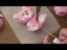 ▶ Cómo hacer una piruleta o paleta de osita con bombones o nubes. - YouTube