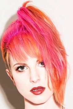 hayley williams pink hair - Google Search