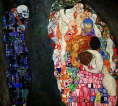 Life and Death - Gustav Klimt