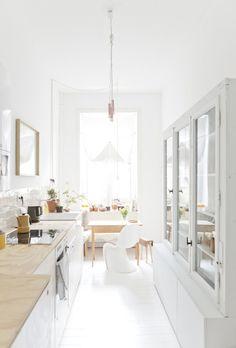 schmale Küchenzeile