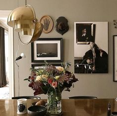 Gallery walls don't just have to include framed art