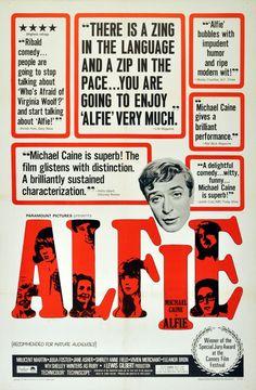Michael Caine in Alfie. 1966