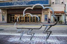 9th Street across from Benedum Center | Community Post: It's Official: Pittsburgh Has The Most Legit Bike Racks