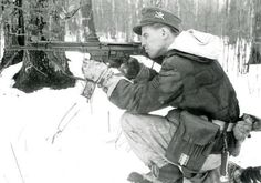 German Gebirgsjäger with Stg44
