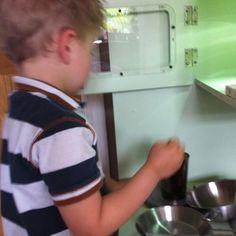 MasterChef in action . Wooden Play Kitchen, Diy Kitchen, Action, Wooden Toy Kitchen, Group Action