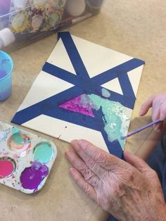Elderly Crafts, Elderly Activities, Senior Activities, Crafts For Seniors, Senior Crafts, Games For Elderly, Activities For Dementia Patients, Dementia Crafts, Alzheimers Activities