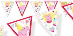 Resultado de imagen para peppa pig princess party ideas