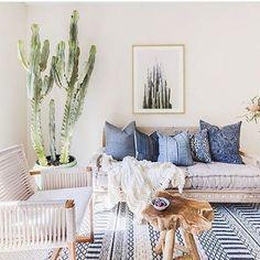 "891 Likes, 10 Comments - White & Wood Home (@whiteandwoodhome) on Instagram: ""Inspiración mediterránea 🌵 Mediterranean inspiration 🍃 Vía: @decoratorapp Credit: @parachutehome…"""