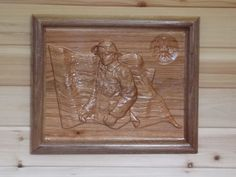 Firefighter Decor  Fireman Wall Hanging  by TheWoodGrainGallery, $85.00