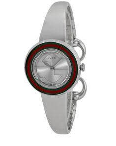 ed42ba4094b Gucci U-Play Silver Dial Stainless Steel Women s Watch
