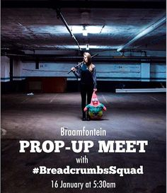 Join the #BreadcrumbsSquad and @IgersJozi @igerssouthafrica for an early morning Prop-up meet in Braamfontein.  Bring a few props with to the meet and let's all experiment collaborate and create some awesomeness. Whether you bring umbrellas balloons mirrors samurai swords or simply your beautiful faces please do join us this weekend and let's have fun together.  Meeting point: 70 Juta Street Braamfontein  Date: 16 January  Time: 5:30am  by @deenschroeder by igers
