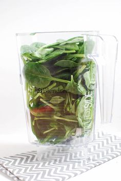 Stock your freezer with these Frozen Spinach Cubes so you always have them on hand to give your smoothie a nutritional boost!