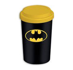 Batman Travel Mug Coffee-To-Go-Becher Logo. Hier bei www.closeup.de