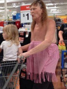 Walmart. It's always gotta be Walmart.