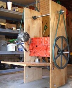Generate Electricity From A Recycled Auto Alternator Using The Treadle-Powered Generator